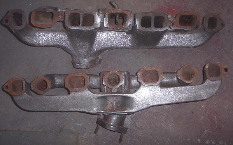 chevy inline manifold